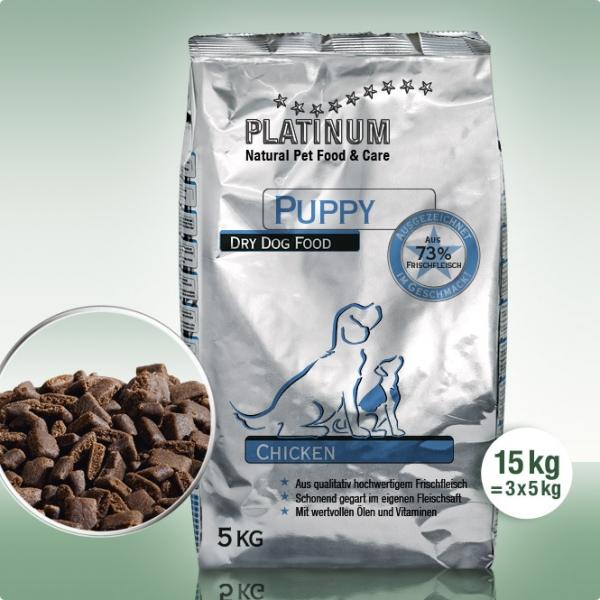Platinum Puppy Chicken ( 幼犬 ) 鮮雞肉 15kg
