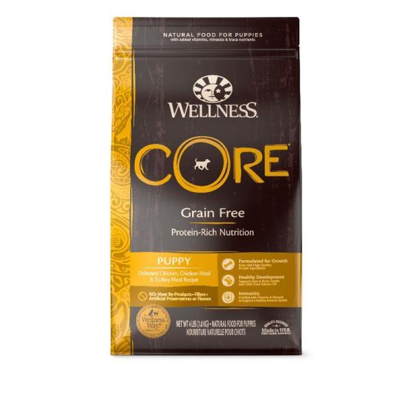 Wellness Core 無穀物(犬用)配方 - 幼犬 4lb