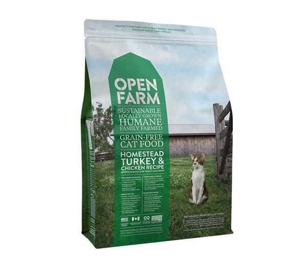 Open Farm Cat (Turkey&Chicken) 無穀物火雞雞肉配方貓糧 8lbs
