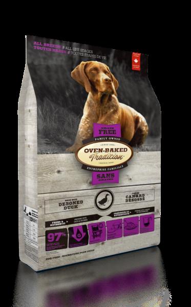 Oven-Baked (Dog) 無穀配方 - 鴨肉配方 5lb  (紫)