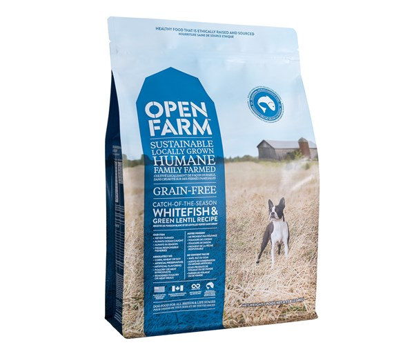 Open Farm Dog (Whitefish) 無穀物海捕鮮魚配方狗糧 24lbs