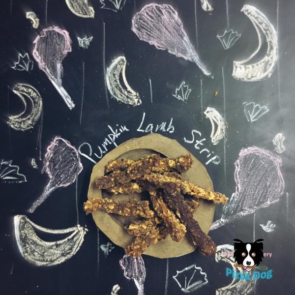 Pizza Dog 香港本地手工小食 - 蜜汁南瓜羊肉條 56g