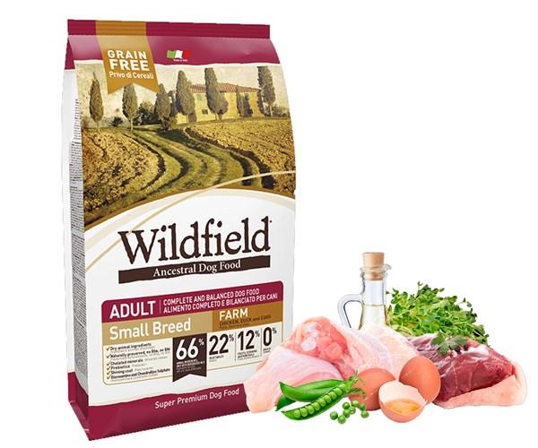 Wildfield 祖泉 低敏無穀物 小型成犬 農莊 (Farm) 配方 - 雞、鴨、雞蛋 (S) 2kg