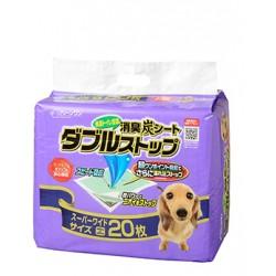 CS 超厚型雙層 消臭炭尿墊 (60x90cm) 20片裝 (紫)