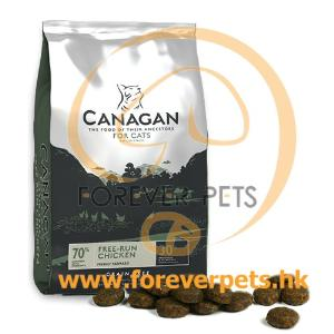 Canagan Free-Run Chicken For Cats 無穀物放養雞 (全貓糧) 4kg (銀綠)