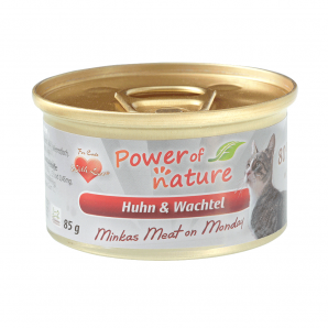 Power of Nature 星期一慕絲 Minkas Meat on Monday (Huhn & Wachtel) 雞肉鵪鶉 85g (紅色)
