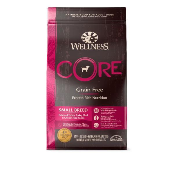 Wellness Core 無穀物(犬用)配方 - 小型成犬 12lb (細粒)