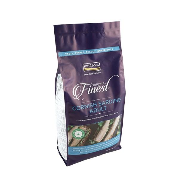 Fish4Dogs Finest Fish 沙甸魚 無麩質 低敏 (成犬) 配方 (小粒) 6kg  (原包)