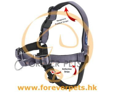 Deluxe Easy Walk Harness (碳灰) L
