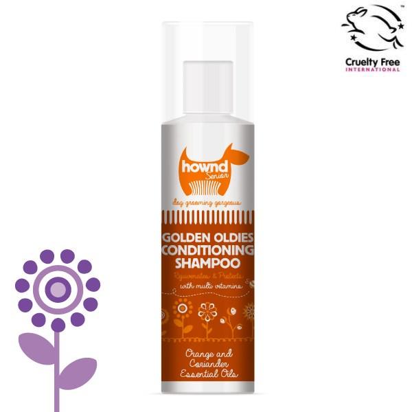 Hownd 享樂 - Golden Oldies Conditioning Shampoo 年長專用保濕滋養(二合一)潔毛液 250ml