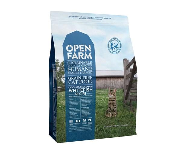 Open Farm Cat (Whitefish) 無穀物海捕鮮魚配方貓糧 8lbs