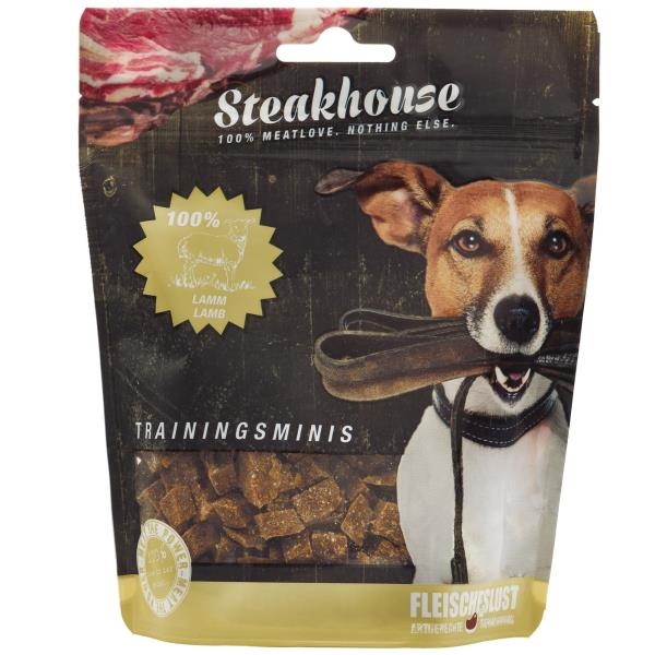 Fleischeslust原尾煮易 扒房(Steakhouse)小食 - 風乾 (Air Dried) 純羊肉粒 (Lamb Minis) 100g