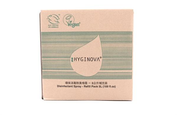 HYGINOVA - 環保消毒除臭噴霧 5L 補充裝