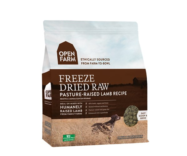 Open Farm Freeze-Dried Dog (Lamb) 無穀物羊肉蔬果冷凍脫水狗糧 13.5oz