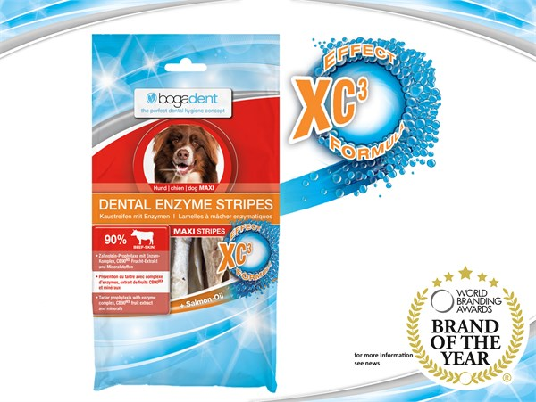 bogadent®Dental Enzyme Stripes 天然酵素防牙石條(大型犬) 100g