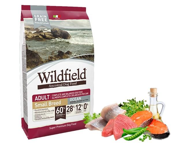 Wildfield 祖泉 低敏無穀物 小型成犬 海洋 (Ocean) 配方  -鯡魚、三文魚、吞拿魚 (S) 2kg