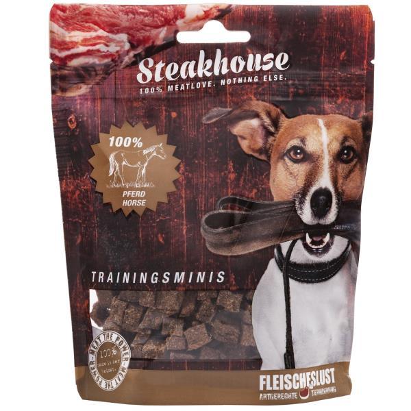 Fleischeslust原尾煮易 扒房(Steakhouse)小食 - 風乾 (Air Dried) 純馬肉粒 (Horse Minis) 100g