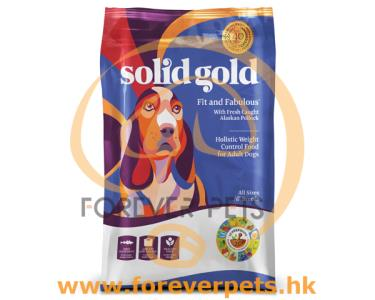 Solid Gold Fit and Fabulous 鱈魚 低卡狗糧 24lb