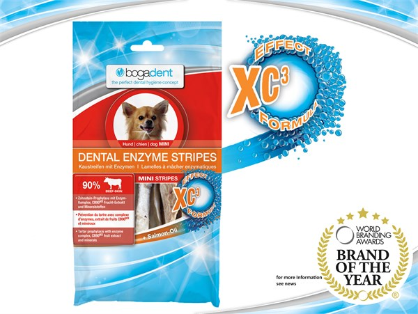 bogadent®Dental Enzyme Stripes 天然酵素防牙石條(小型犬) 100g