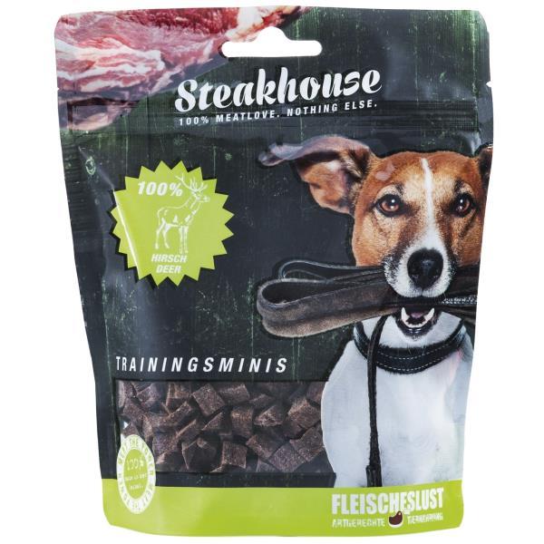 Fleischeslust原尾煮易 扒房(Steakhouse)小食 - 風乾 (Air Dried) 純鹿肉粒 (Venison Minis) 100g