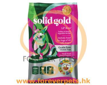 Solid Gold Lil Boss 無穀物 小型犬全年齡 狗糧 12lb