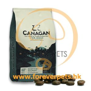 Canagan Scottish Salmon For Dogs 無穀物蘇格蘭三文魚 (全犬糧)  12kg (藍色)