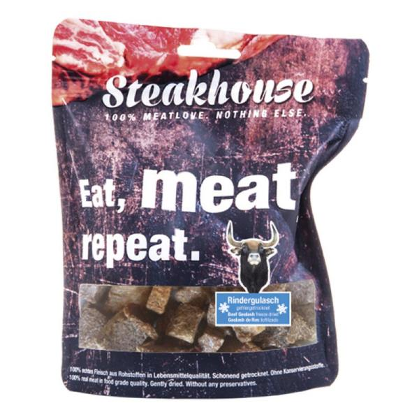 Fleischeslust原尾煮易 扒房(Steakhouse)小食 - 低溫脫水 (Freeze Dried) Beef Chunks 牛肉粒 40g