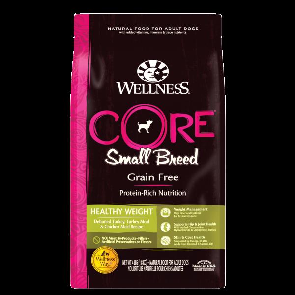 Wellness Core 無穀物(犬用)配方 - 小型減肥 12lb (細粒)
