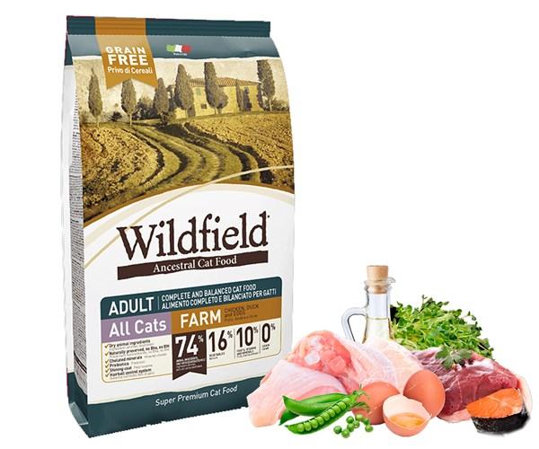 Wildfield Cat Farm 無穀物全貓農莊配方-雞、鴨、雞蛋 2kg