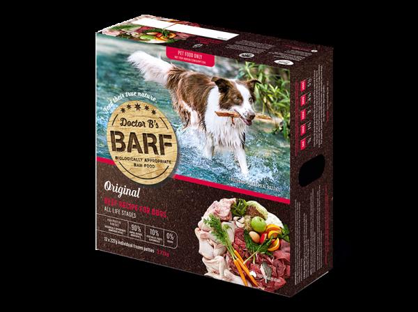 Dr. B (R.A.W. Barf)急凍狗糧 - Beef 牛肉蔬菜 2.72Kg