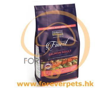 Fish4Dogs Finest Salmon 三文魚 無麩質 低敏 配方 1.5kg (小粒)