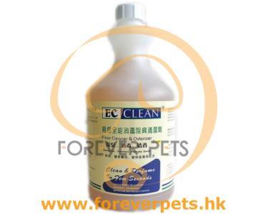 EC Clean ( 全能 ) 除臭消毒清潔劑 4L (大)