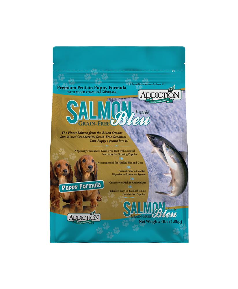 Addiction (幼犬糧) 無穀物 藍三文魚 Salmon 配方 20lb