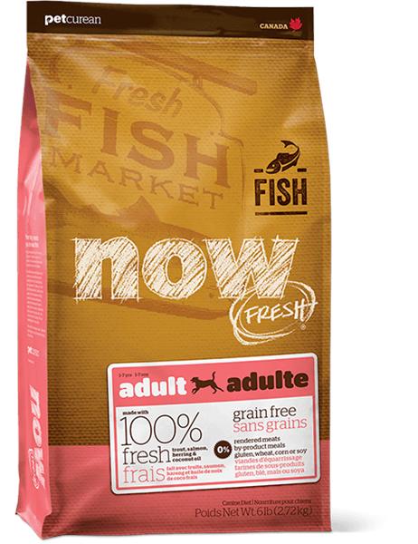 Now! Grain Free 成犬 魚肉配方 6lb (粉紅)