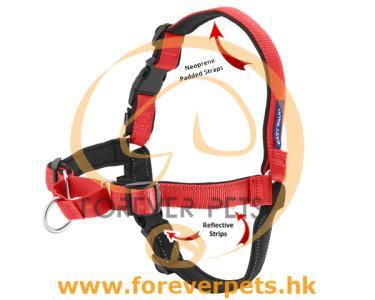 Deluxe Easy Walk Harness (玫瑰紅) L