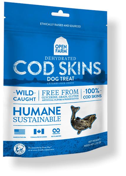 Open Farm COD 魚皮小食 2.25oz