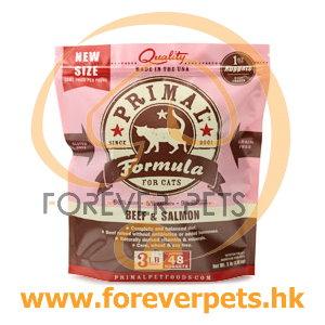Primal (原始)-Feline Frozen Formula (Beef&Salmon)貓用急凍鮮肉- 牛加三文魚配方 3lb