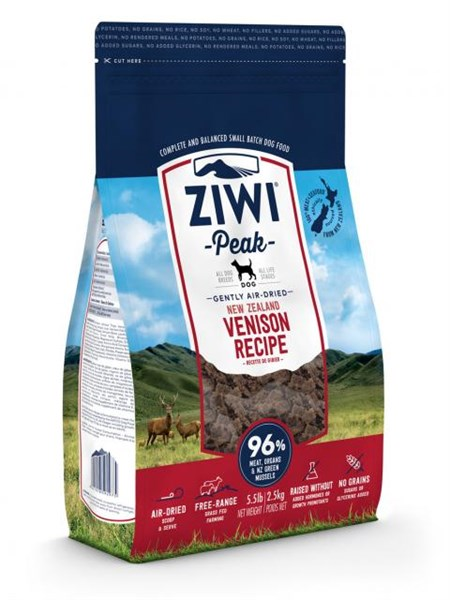 ZiwiPeak 'Daily Dog' Cuisine 狗料理 - Venison 鹿肉 2.5kg