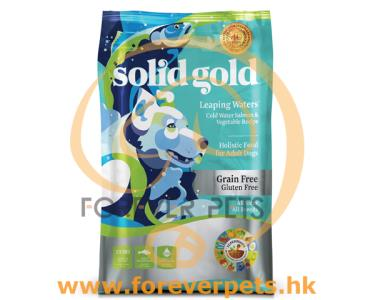 Solid Gold Leaping Waters 無穀物 三文魚 狗糧 4lb