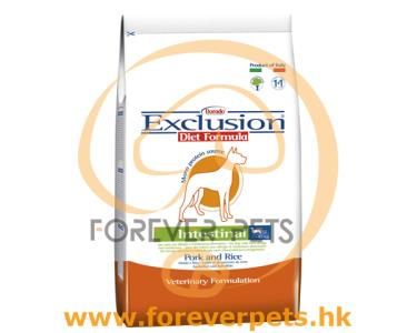 Exclusion Diet Intestinal 腸胃舒緩配方 - 豬肉 飯 (Pork & Rice) 小型犬 (Small) 800g