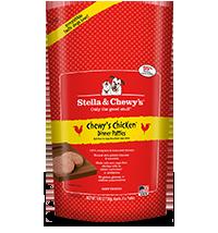 Stella & Chewy's - Frozen Chewy's Chicken 犬用冷凍鮮肉 - 籠外鳳凰(雞肉配方) 6lb  (4包優惠裝)