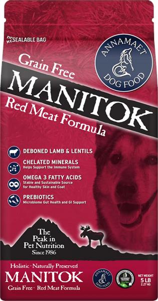 Annamaet Manitok (Dog) 草原大地 無穀物配方 - 低灰質羊肉 鹿肉 15lb
