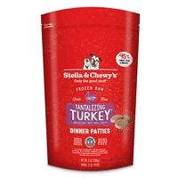 Stella & Chewy's - Frozen Tantalizing Turkey 犬用冷凍鮮肉 - 火雞誘惑(火雞肉配方) 3lb