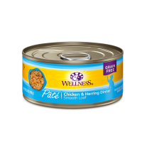 Wellness Complete Health 貓罐頭 - 雞肉拼魚肉 3oz (藍)