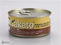 Kakato 卡格 Chicken, Beef Liver & Vegetables 雞、牛肝、蔬菜 (貓狗合用) 170g