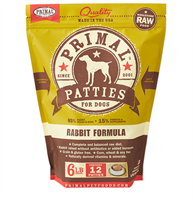 Primal (原始)-Canine Frozen Formula (Rabbit)犬用急凍鮮肉- 兔配方 6lb (4包優惠裝)