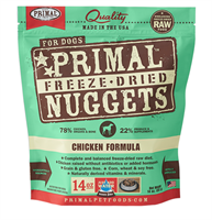 Primal (原始)-Canine Freeze-Dried Formula (Chicken)犬用低溫脫水糧- 雞配方 14oz
