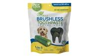 Ark Naturals Brushless-Toothpaste 亮白牙齒小食(中大型犬用) 18oz