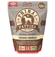 Primal (原始)-Canine Frozen Formula (Venison)犬用急凍鮮肉- 鹿配方 6lb (4包優惠裝)