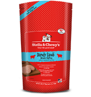 Stella & Chewy's - Frozen Dandy Lamb 犬用冷凍鮮肉 - 羊羊得意(羊肉配方) 6lb  (4包優惠裝)